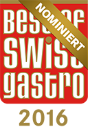 Nomination Best of Swiss Gastro 2016